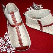 """Обувь ручной работы. Ярмарка Мастеров - ручная работа Тапки-валенки """"Пегасы"""". Handmade."""