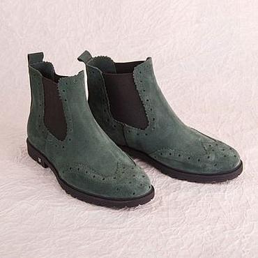 Обувь ручной работы. Ярмарка Мастеров - ручная работа Женские челси. Handmade.