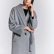 Одежда handmade. Livemaster - original item Copy of Grey Kimono-coat. Handmade.