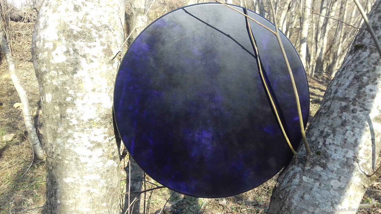 Сине-фиолетовый бубен, Инструменты, Апшеронск, Фото №1