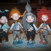 Куклы и игрушки ручной работы. Ярмарка Мастеров - ручная работа Утро. День. Вечер. Ночь. Handmade.