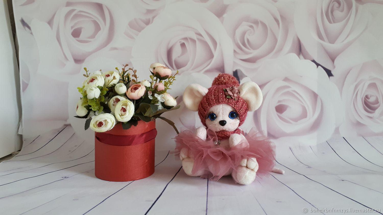 Мышка малышка, Мягкие игрушки, Москва,  Фото №1
