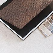 Notebooks handmade. Livemaster - original item Notepad with fabric cover / A4 / Handmade / Ejednevny. Handmade.