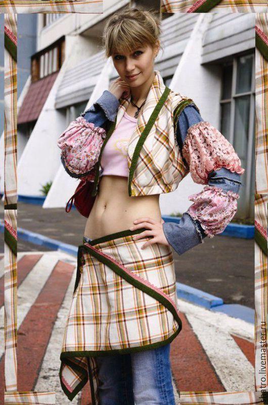 Костюмы ручной работы. Ярмарка Мастеров - ручная работа. Купить костюм ДВОЙКА. Handmade. Лимонный, пиджак женский