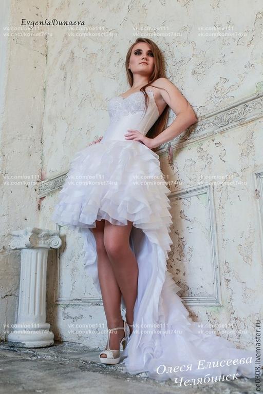 Одежда и аксессуары ручной работы. Ярмарка Мастеров - ручная работа. Купить Свадебное платье. Handmade. Свадебное платье, платье свадебное