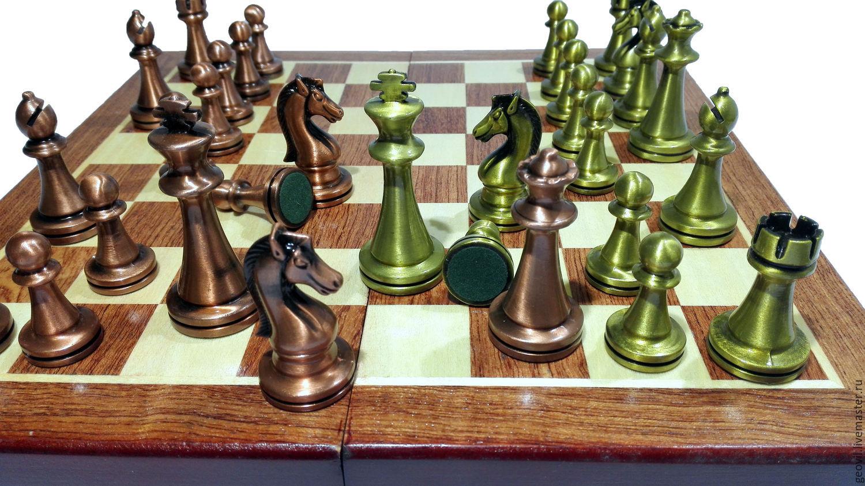 шахматы классика 30x30 см деревянныефигуры металл купить в