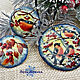 Mother of pearl set of 'Winter morning'. Jewelry Sets. World in Miniature (zharovamonin). Online shopping on My Livemaster.  Фото №2