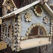 Для дома и интерьера ручной работы. Ярмарка Мастеров - ручная работа Кормушка -Белка- для белок и птиц. Handmade.