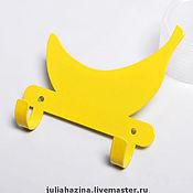 """Для дома и интерьера ручной работы. Ярмарка Мастеров - ручная работа крючок """"банан"""". Handmade."""
