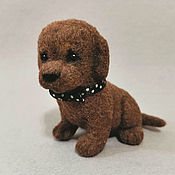 Куклы и игрушки handmade. Livemaster - original item Puppy mini. Handmade.