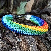 Украшения handmade. Livemaster - original item Beaded bracelet,