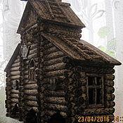 Для дома и интерьера ручной работы. Ярмарка Мастеров - ручная работа чайный домик тройной. Handmade.