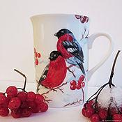 Кружки ручной работы. Ярмарка Мастеров - ручная работа Кружка чайная. Handmade.