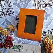Винтаж ручной работы. Ярмарка Мастеров - ручная работа Рамочка для фото нат.дерево. Handmade.