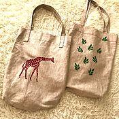 Классическая сумка ручной работы. Ярмарка Мастеров - ручная работа Сумка шоппер (экосумка). Handmade.