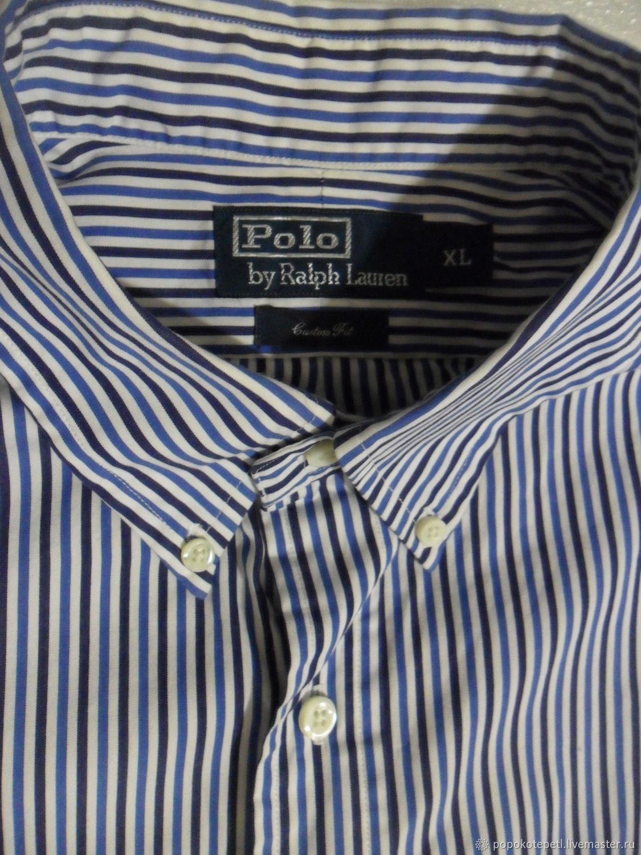 Men's shirt,100% cotton,vintage Switzerland,size 60, Vintage clothing, Novorossiysk,  Фото №1