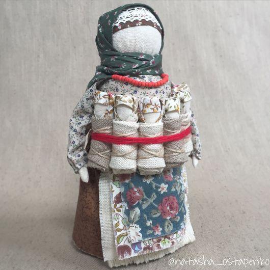 Народные куклы ручной работы. Ярмарка Мастеров - ручная работа. Купить Московка (Плодородие, СемьЯ, Седьмая Я), кукла-оберег. Handmade.