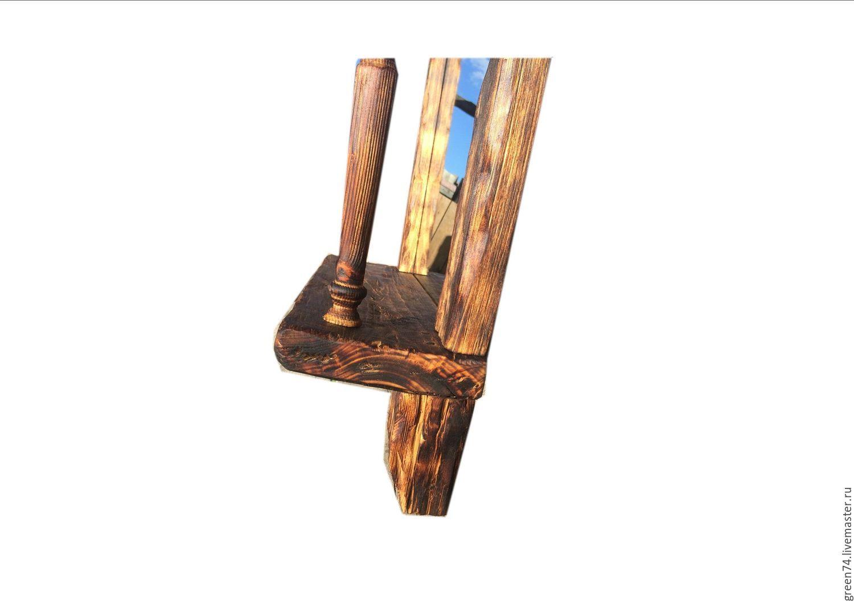 рама для зеркала в рустикальном стиле купить на ярмарке мастеров Cvmonru зеркала челябинск