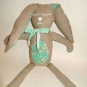 Куклы и игрушки ручной работы. Ярмарка Мастеров - ручная работа Спящий заяц. Handmade.