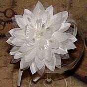 Украшения ручной работы. Ярмарка Мастеров - ручная работа Белые цветы. Handmade.