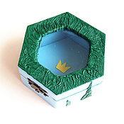 "Для дома и интерьера handmade. Livemaster - original item Box ""The crown"". Handmade."