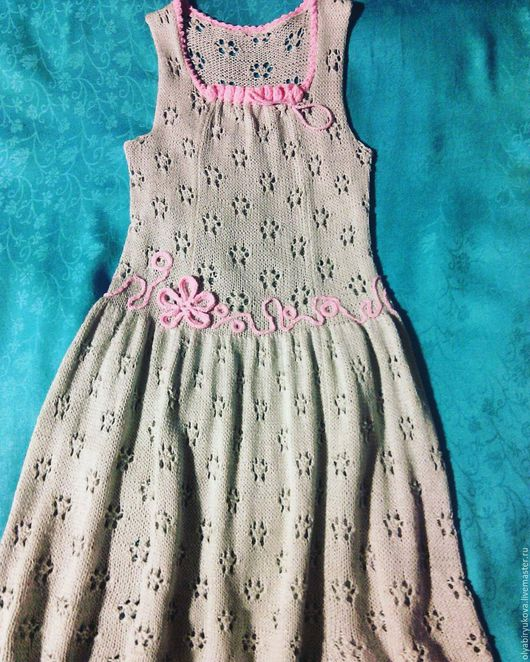 Домашнее платье для девочки