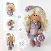 Куклы и игрушки handmade. Livemaster - original item Parisienne doll, Textile doll, Interior doll. Handmade.