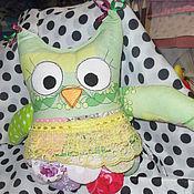 Куклы и игрушки ручной работы. Ярмарка Мастеров - ручная работа Совушка малютка. Handmade.