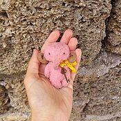 Мягкие игрушки ручной работы. Ярмарка Мастеров - ручная работа Персик. Handmade.