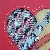 """Открытки ручной работы. Ярмарка Мастеров - ручная работа открытка """" Мелодия Сердца"""". Handmade."""