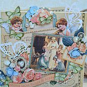 """Свадебный салон ручной работы. Ярмарка Мастеров - ручная работа Свадебная открытка """"Невеста"""". Handmade."""
