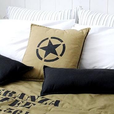 Текстиль ручной работы. Ярмарка Мастеров - ручная работа Одеяло в стиле лофт. Handmade.