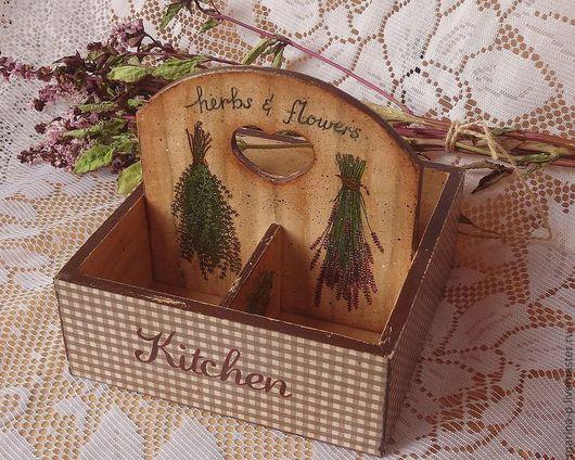 """Кухня ручной работы. Ярмарка Мастеров - ручная работа. Купить Подставка под специи """"Душистые травы"""". Handmade. Кухонная утварь"""