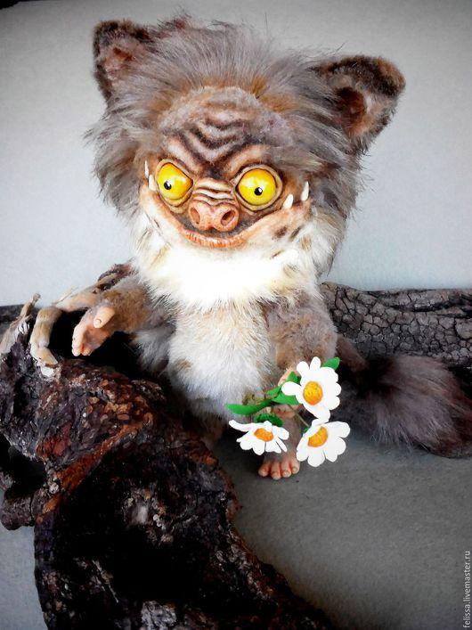 Мишки Тедди ручной работы. Ярмарка Мастеров - ручная работа. Купить КОШмарик. Handmade. Коричневый, смешная игрушка, пластика, хендмейд