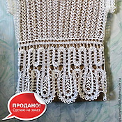 Одежда handmade. Livemaster - original item Lace blouse white SOLD.. Handmade.
