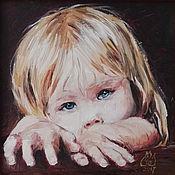 Картины и панно handmade. Livemaster - original item Portrait by photo oil painting to order. Handmade.