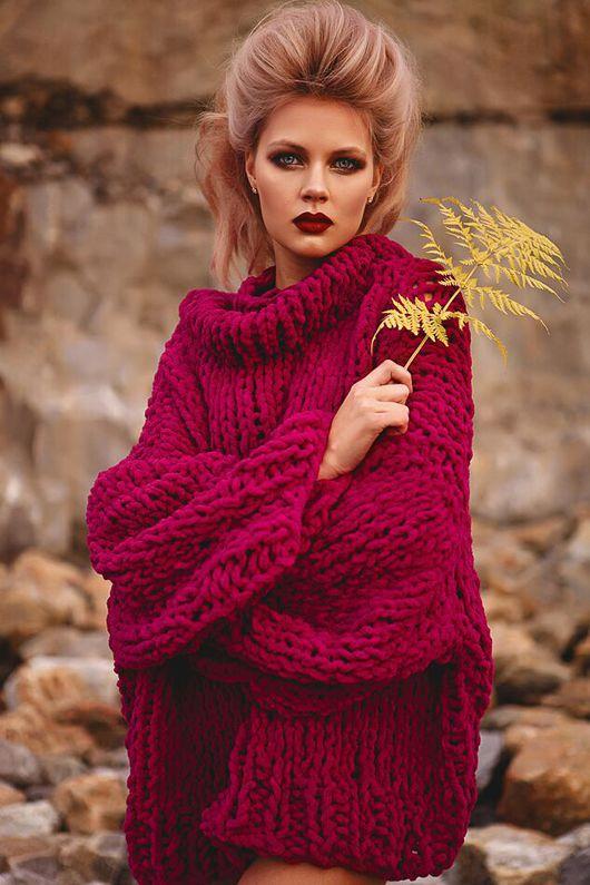 Кофты и свитера ручной работы. Ярмарка Мастеров - ручная работа. Купить Объемный свитер.. Handmade. Свитер, объемный свитер