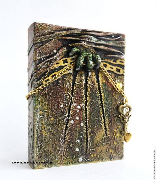"""Блокноты ручной работы. Ярмарка Мастеров - ручная работа. Купить Блокнот """"Вторжение"""". Handmade. Комбинированный, блокнот в подарок, блокноты"""