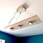 Потолочные и подвесные светильники ручной работы. Ярмарка Мастеров - ручная работа Потолочный светильник из дерева.. Handmade.