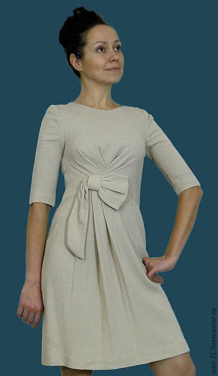 """Платья ручной работы. Ярмарка Мастеров - ручная работа. Купить Платье  ручной работы """"Ванильное небо"""" авторская одежда NAN.. Handmade."""