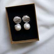 Украшения handmade. Livemaster - original item Baroque pearls earrings. Handmade.