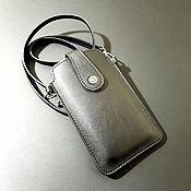 Сумки и аксессуары handmade. Livemaster - original item Phone case with a strap.Handbag for your.. Handmade.