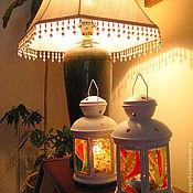 """Для дома и интерьера ручной работы. Ярмарка Мастеров - ручная работа Фонарик для свечи """"Светлячок-6"""". Handmade."""