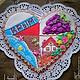 Кулинарные сувениры ручной работы. Ярмарка Мастеров - ручная работа. Купить Пряник-коллаж Крым. Handmade. Разноцветный, имбирное печенье