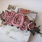 """Украшения ручной работы. Ярмарка Мастеров - ручная работа Браслет """"Из роз"""". Handmade."""