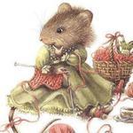 Мышка Скрапушка (Нина) - Ярмарка Мастеров - ручная работа, handmade