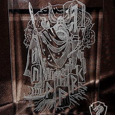 Сувениры и подарки ручной работы. Ярмарка Мастеров - ручная работа Бог Один. Декоративная рамка.. Handmade.