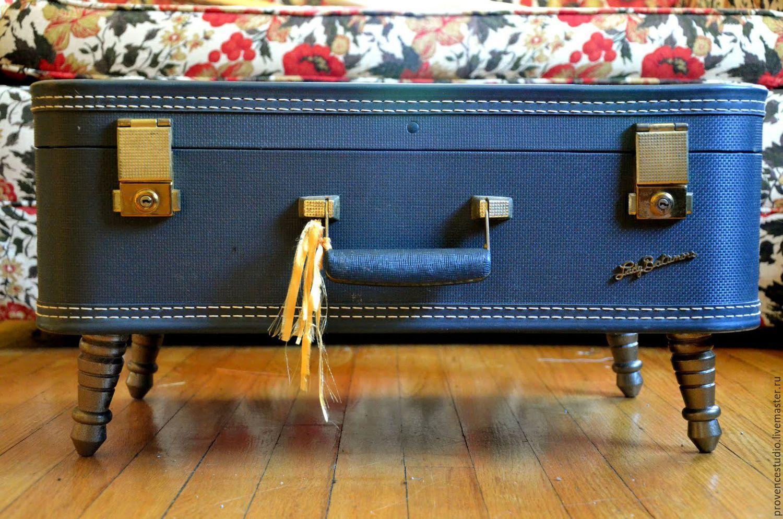 Дизайн старых чемоданов своими руками