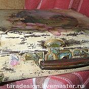 Для дома и интерьера ручной работы. Ярмарка Мастеров - ручная работа Старенький чемоданчик. Handmade.