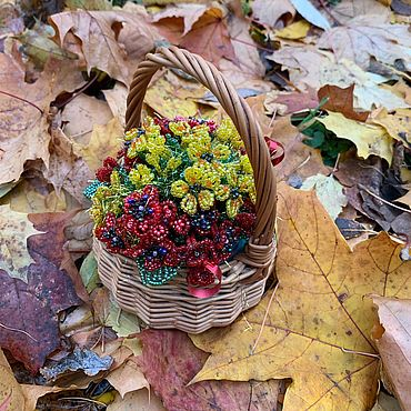 Для дома и интерьера ручной работы. Ярмарка Мастеров - ручная работа Цветы из бисера. Handmade.